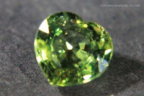 Green Sapphire, Thailand.  1.85 carats.  ** SOLD **